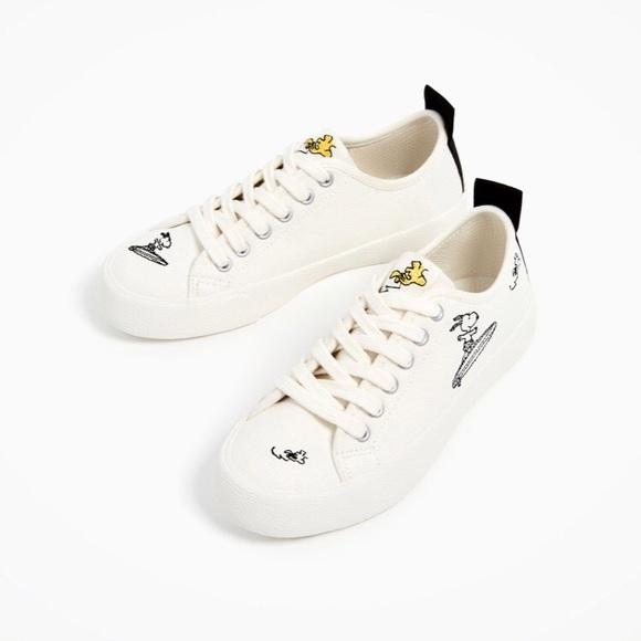 Zara Shoes   Zara Snoopy Woodstock